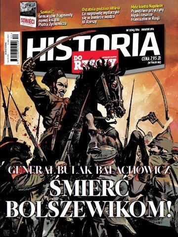 """Okładka miesięcznika """"Historia Do Rzeczy"""" nr 12/2016 (46)"""