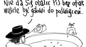 Walka z PiS wymaga poświęceń